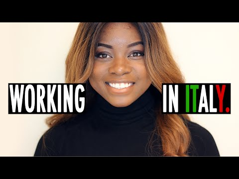 WORKING IN ITALY AS A FOREIGNER | MY STORY, CONTRACTS, TAXES ETC