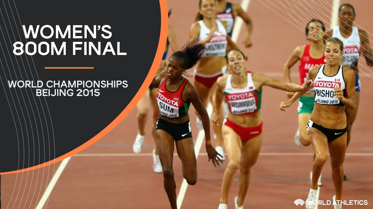 Women's 800m Final | World Athletics Championships Beijing 2015
