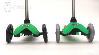Обзор: Отличие самокатов Mini Micro и Mini Micro Sporty