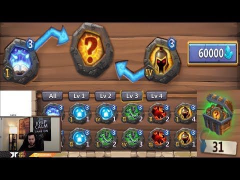 JT's F2P Forging Level 3 Crests Looking For PSYSHEILD! Castle Clash