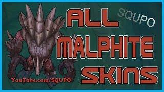 All Malphite Skins (League of Legends)