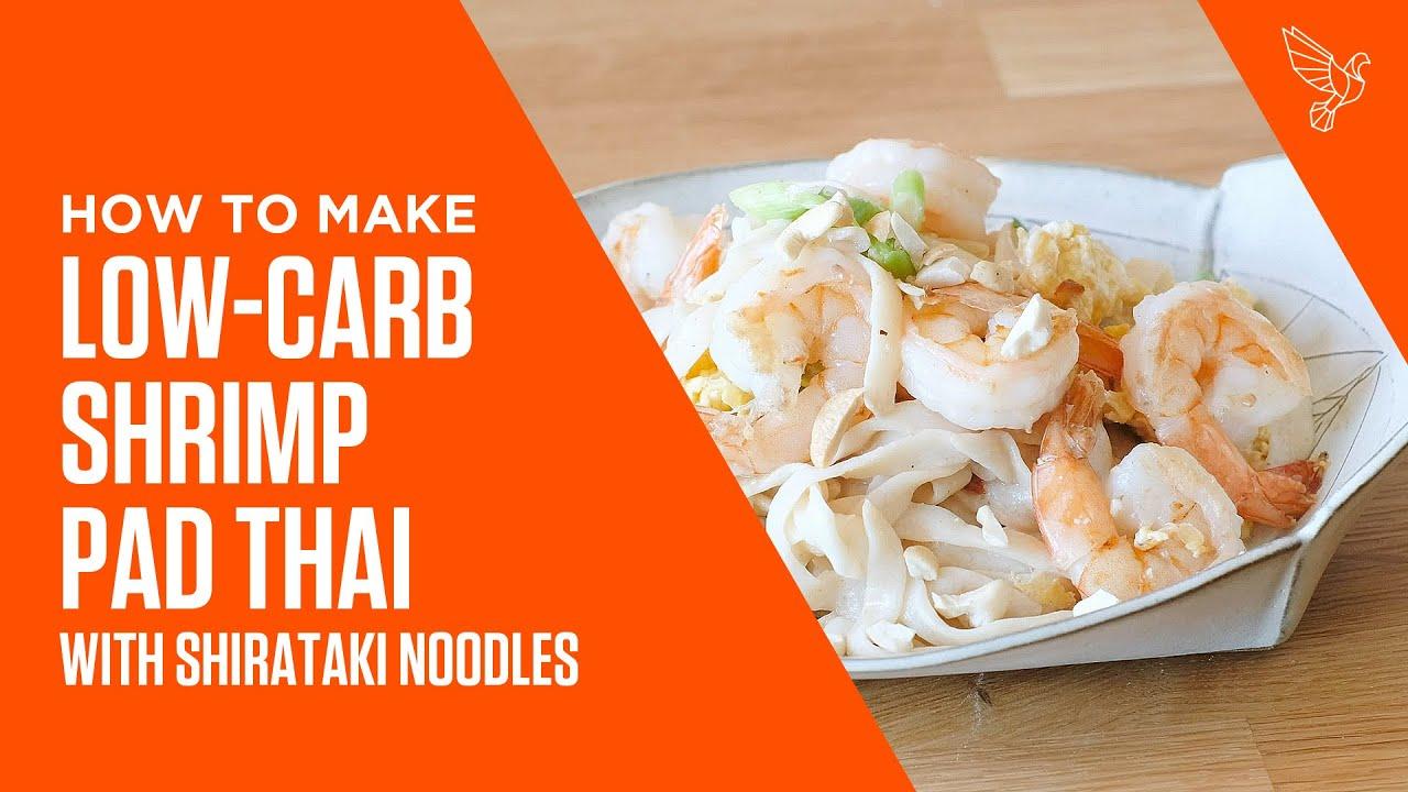 Low-Carb Shrimp Pad Thai with Shirataki Noodles Recipe | Bulletproof