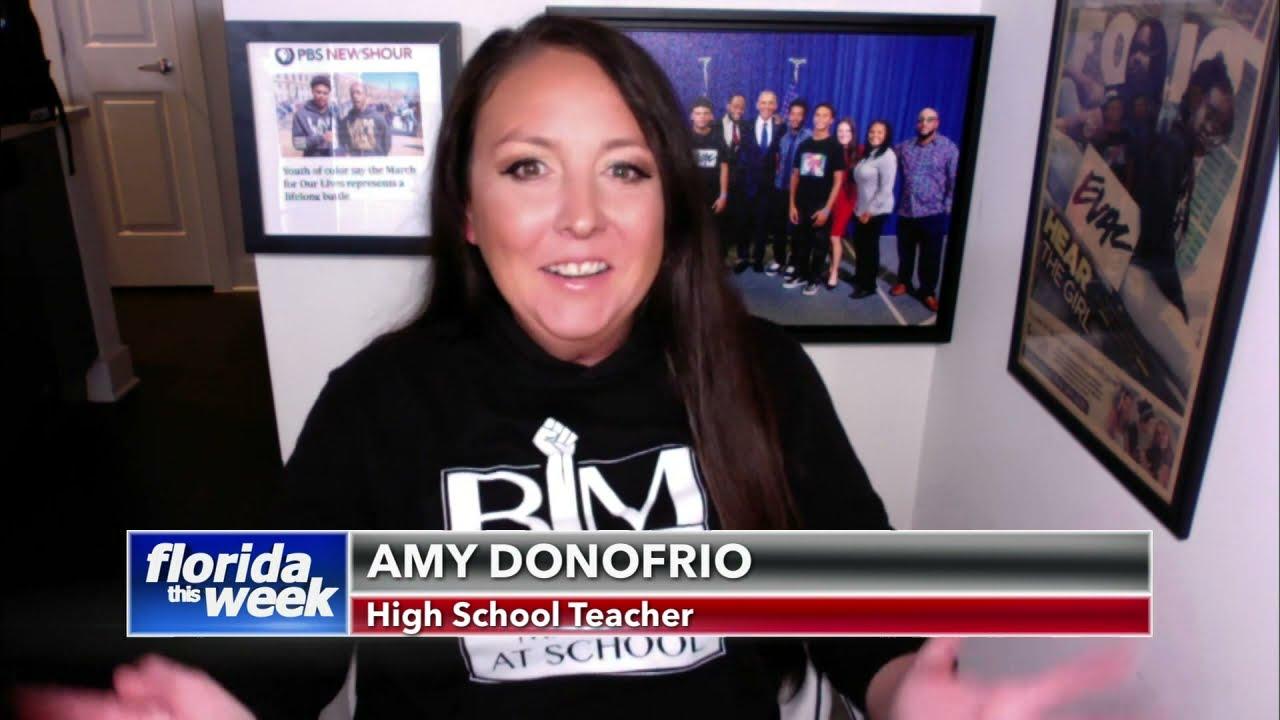 Teacher Amy Donofrio | Florida This Week