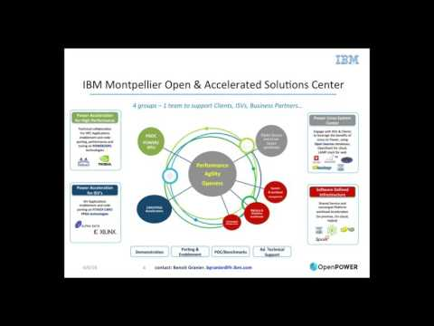 OpenPOWER Summit 2016 - Building the OpenPOWER Ecosystem - POWER Acceleration & Design Centers