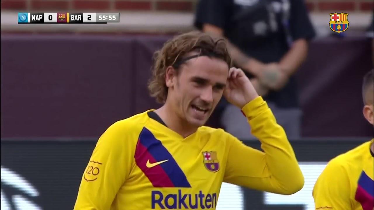 FC Barcelona – SCC Napoli 4 0 HIGHLIGHTS   YouTube