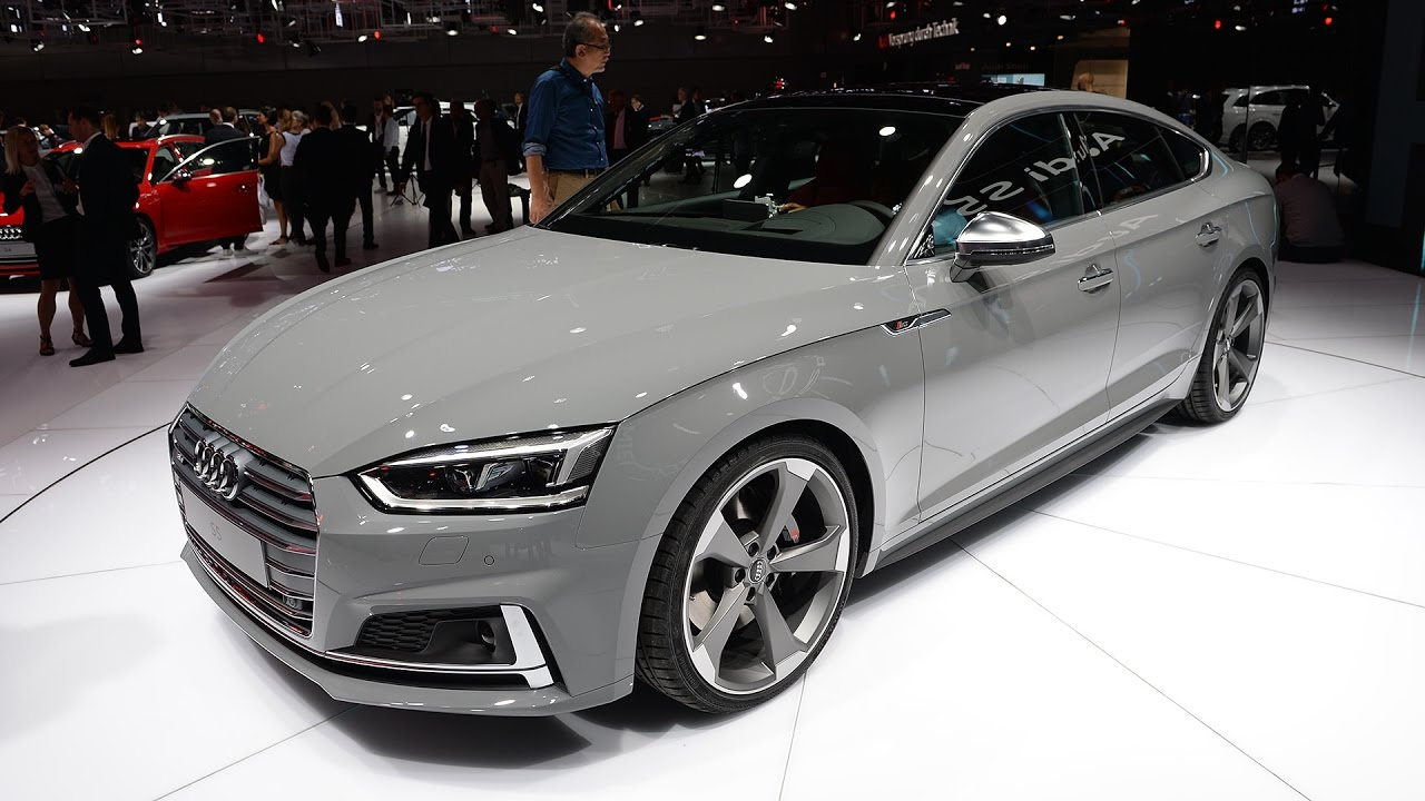 2017 audi s5 sportback 354 hp interior and exterior. Black Bedroom Furniture Sets. Home Design Ideas