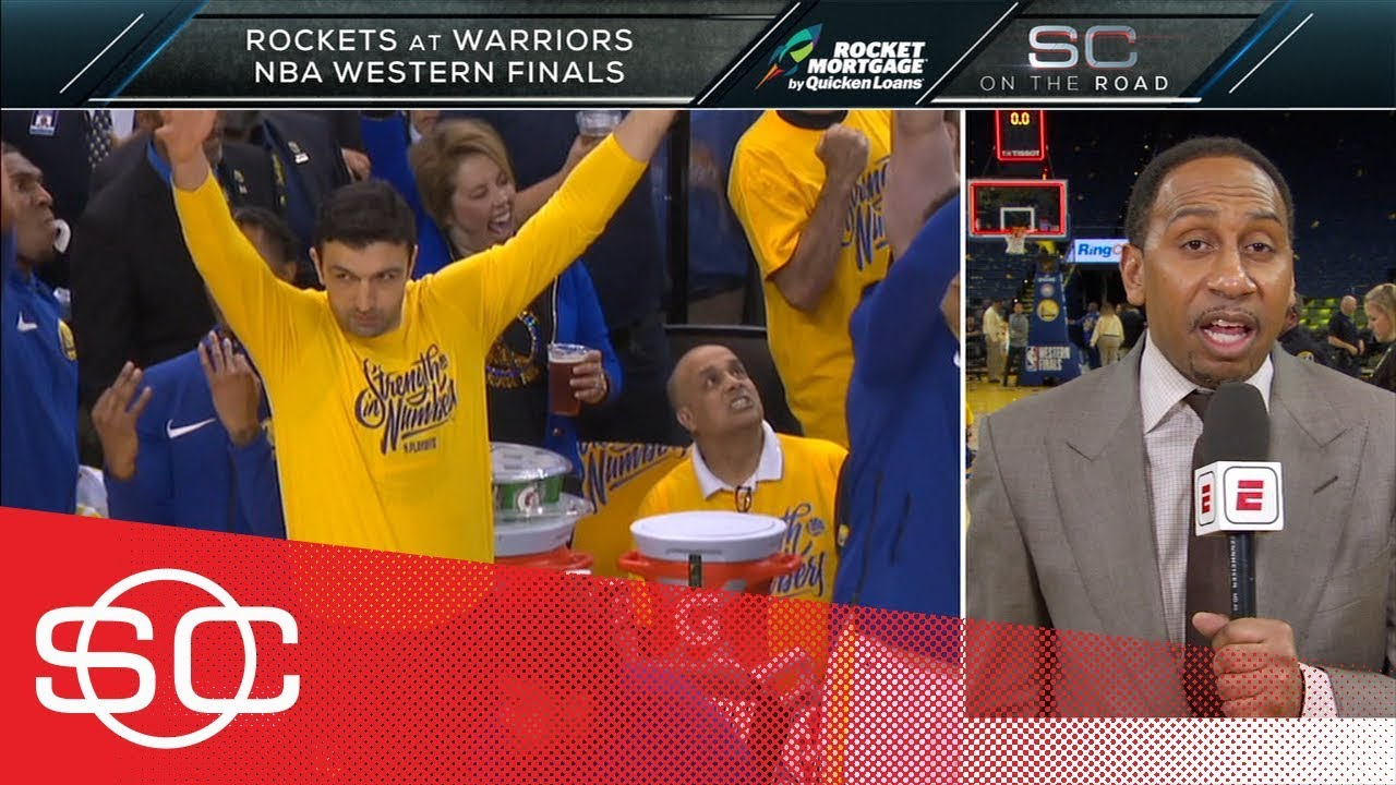 Stephen A. Smith: Warriors' Game 6 win vs. Rockets was an 'unbelievable show' | SportsCenter | ESPN