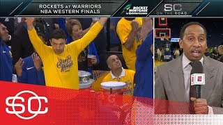 Stephen A. Smith: Warriors' Game 6 win vs. Rockets was an 'unbelievable show' | SportsCenter | ESPN