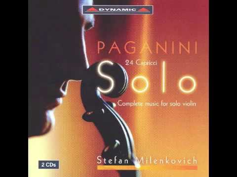 Paganini  - Complete music for solo violin CD2