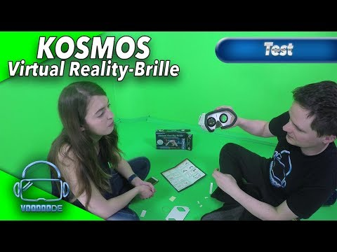 Die KOSMOS Virtual Reality-Brille für Kinder - Was taugt sie? [Test][Unboxing][German]