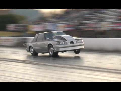Twin Turbo Mustang 3 Wheel Motion!!