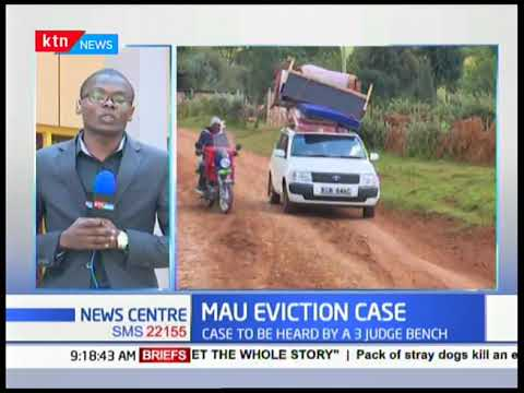 Over 300 dejected Mau eviction victims sue state over unfair eviction from their homes