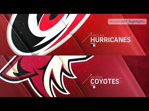 Carolina Hurricanes vs Arizona Coyotes Nov 2, 2018 HIGHLIGHTS HD