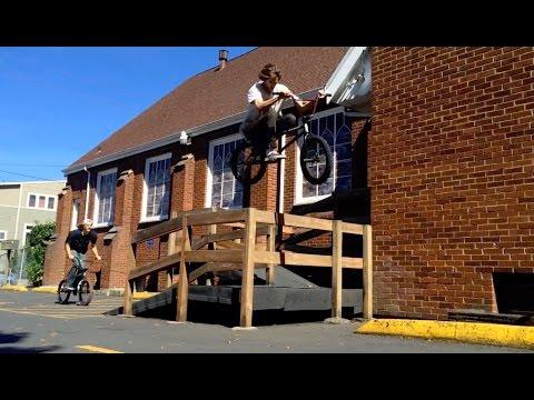 BMX IN PORTLAND W/ REED STARK & DAVID GRANT