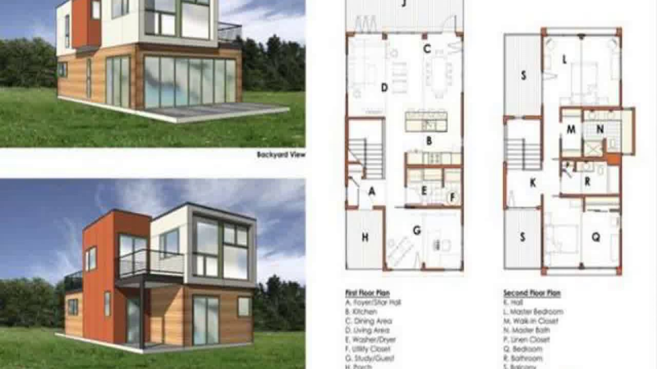 shipping container house floor plans - youtube