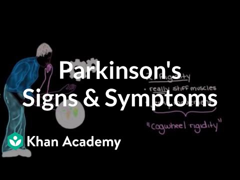 Movement signs and symptoms of Parkinson's disease   NCLEX-RN   Khan Academy