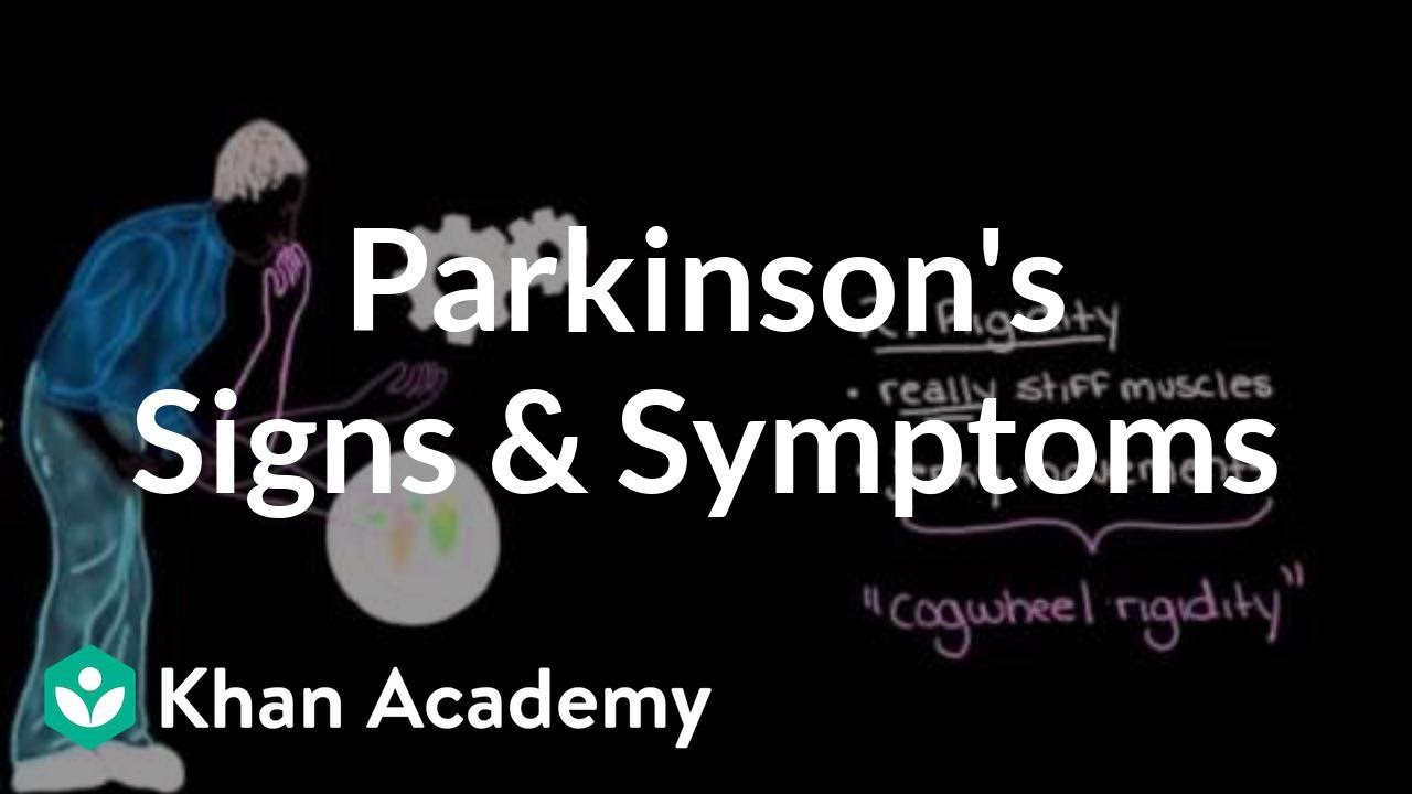 Movement signs and symptoms of Parkinson's disease (video