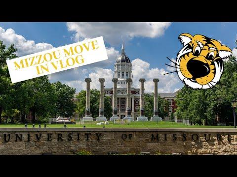 COLLEGE FRESHMAN MOVE IN DAY | University of Missouri