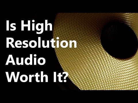 Hi/High Resolution Audio EXPLAINED - Is it worth it? (192kHz/96kHz & 24-bit)