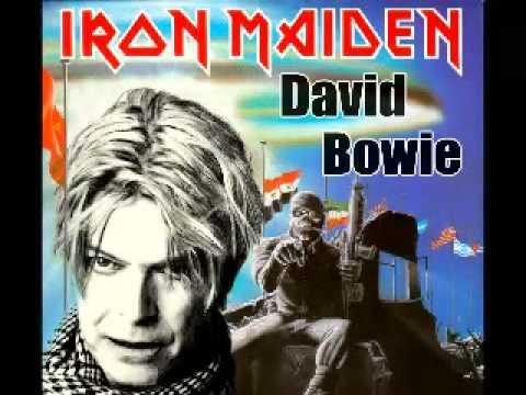 Iron Maiden Vs David Bowie Bootleg Mashup Youtube