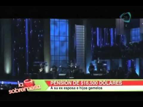 La Sobremesa. Marc Anthony dará pensión de 16 mil dólares a Dayanara Torres