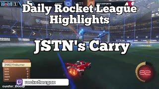 Daily Rocket League Highlights: JSTN's Carry