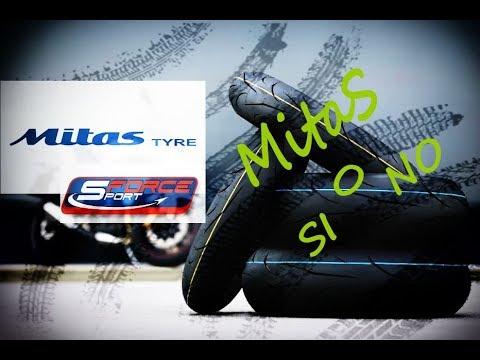 Gomme Mitas Sport Force+!!! Provate su strada e in pista. Ecco il risultato...