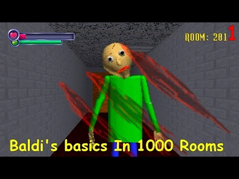 Baldi's Basics In 1000 Rooms (SHOJ Mod) V.1 Part1