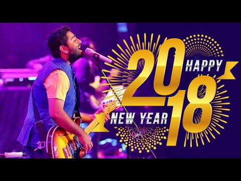 Happy New Year 2018 | ARIJIT SINGH LIVE