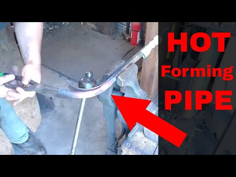 Hot Forming Pipe (Bending Pipe Without a Bender)