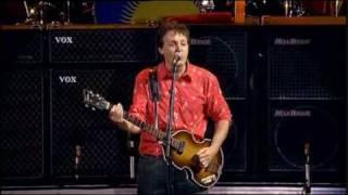 Скачать Paul McCartney Band On The Run Live