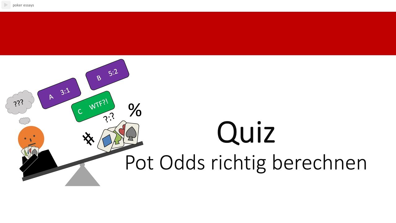 Pot Odds Berechnen