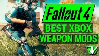 FALLOUT 4: Top 4 BEST Weapon CONSOLE MODS! (Modern Firearms, Crossbows, and Anti-Tank Rifles!)