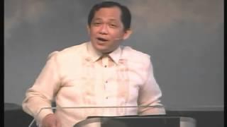 Sermon # 22: GOD'S REMEDY FOR WORRY (Matthew 6:25-34) Pastor Larry Pabiona