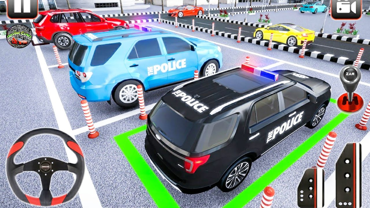 Police Parking Adventure - Car Games Rush 3D - Android Gameplay - Car Games