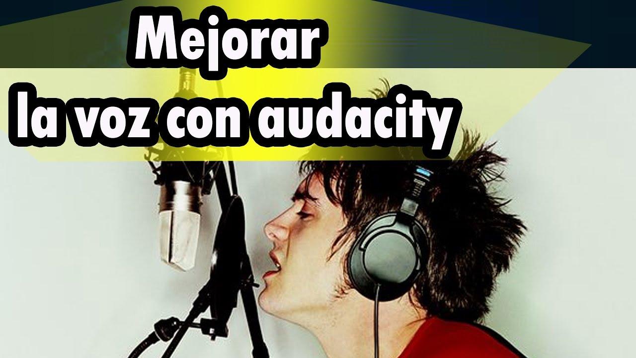 aclarar la voz en audacity