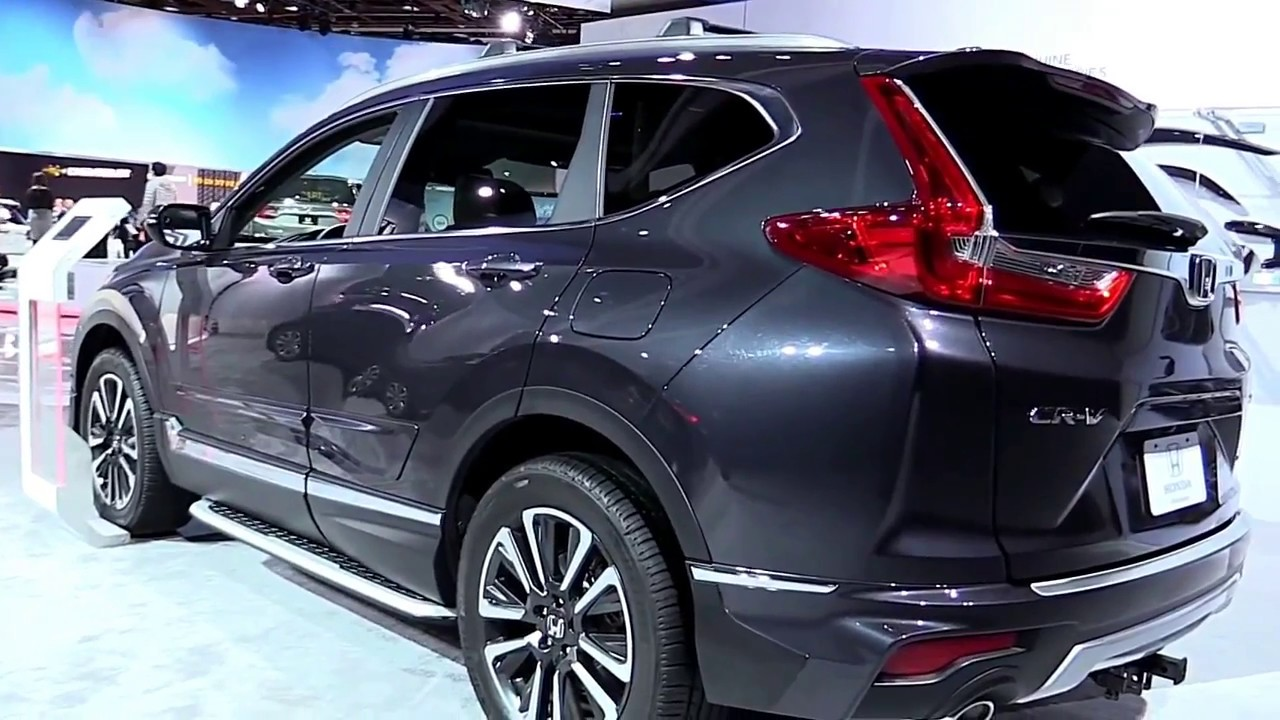 2017 honda crv touring awd exterior and interior walkaround review youtube. Black Bedroom Furniture Sets. Home Design Ideas