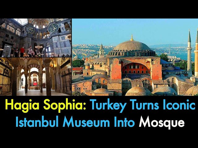 Istanbul iconic Hagia Sophia to be turned back into mosque | 9 News HD