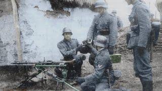 Коп по войне на немецких позициях.