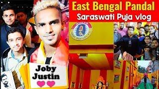 East Bengal Pandal Hopping ❤️Neroca vs CCFC⚽Match Review