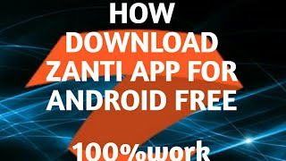 Gambar cover How download zanti app free for android 100%work