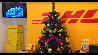 DHL Lviv (Ukraine) - Christmas 2016(Song - Ulia Lord, Yuriy Gnatkovsky