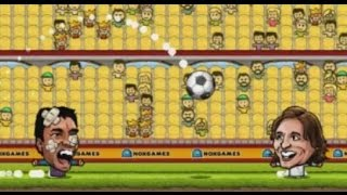 PUPPET FOOTBALL LEAGUE SPAIN GAME WALKTHROUGH
