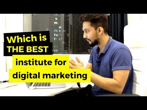 [100% PRACTICAL ANSWER] Can you Choose The Best Digital Marketing Institute in India?