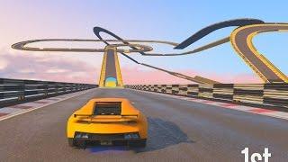 13 KM SUPERCAR RACE! - GTA 5 Funny Moments #605