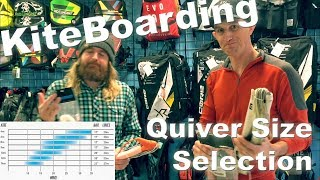 Kiteboarding Quiver Size Strategy