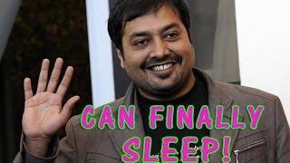 Anurag Kashyap I Can Finally Sleep Well - TOI