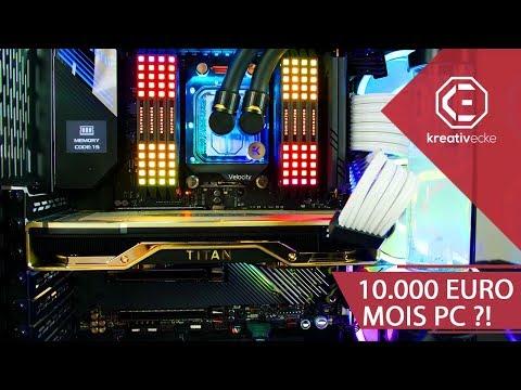 Der 10.000 EURO GAMING UND STREAMING PC von MOIS! Ist er OP? #KreativeFragen 91