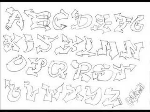 graffiti alphabet throwie youtube