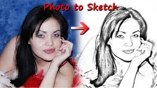 convert photo to sketch photoshop tutorial